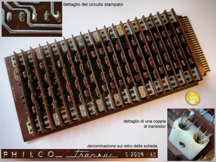 Philco Transac S-2000 card