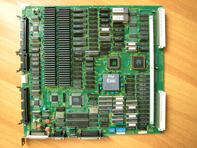 386DX-25 IV Toshiba card
