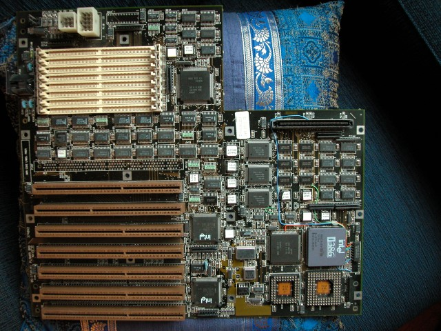 ZDS 386 EISA motherboard