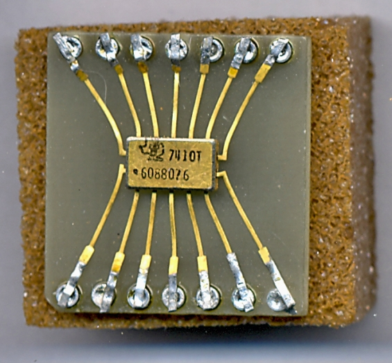 Before microprocessors for Porte nand transistor